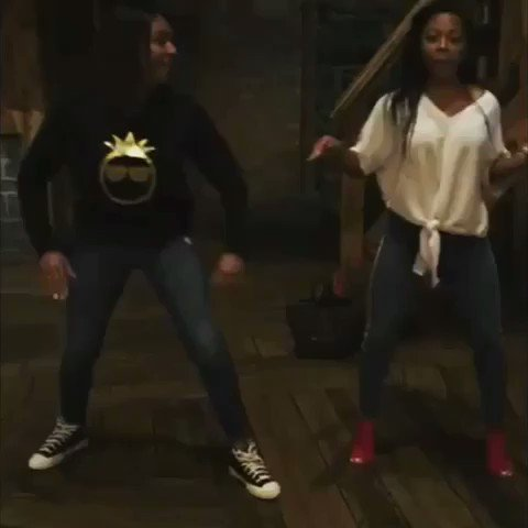Had to post part 2 of the girls @TiffanyHaddish and @BreshaWebb doing the #LevelUpChallenge!! Tooo Lit ������ https://t.co/1hrN9Pqz7X