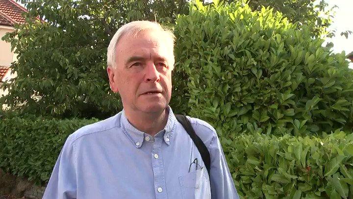 Labour @johnmcdonnellMP says anti semitism row has shaken us to our core