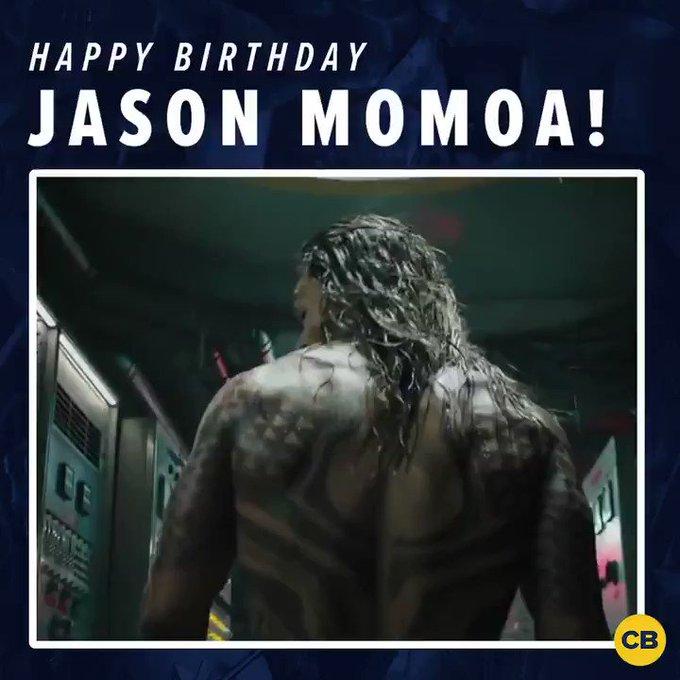 Today is Jason Momoa\s birthday! So happy birthday to the king of Atlantis!