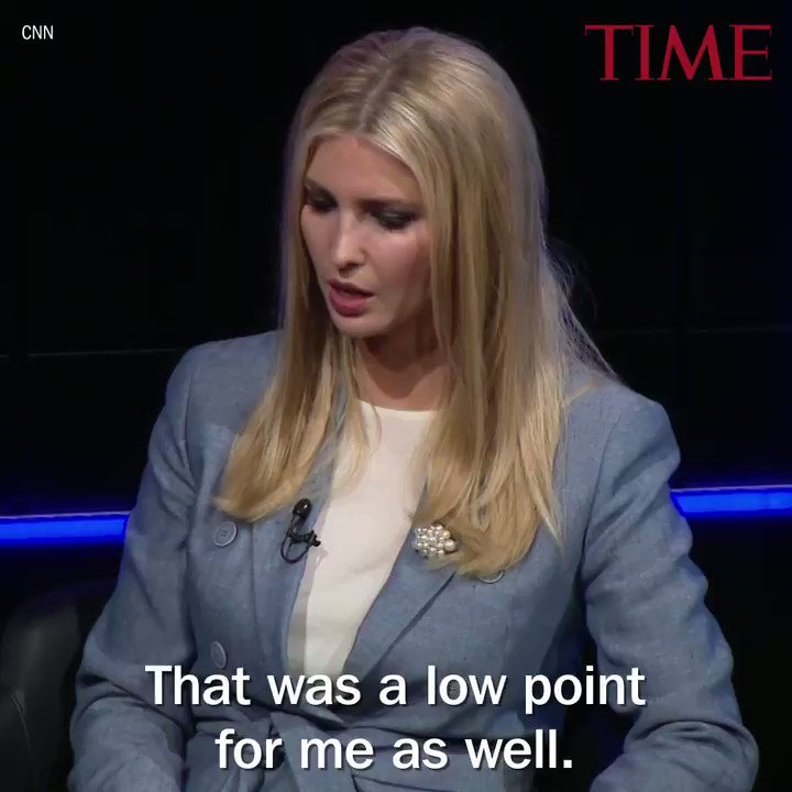 Ivanka Trump says family separation at the border was a 'low point' https://t.co/LmYjBRpGGz https://t.co/frdNQVVhN0