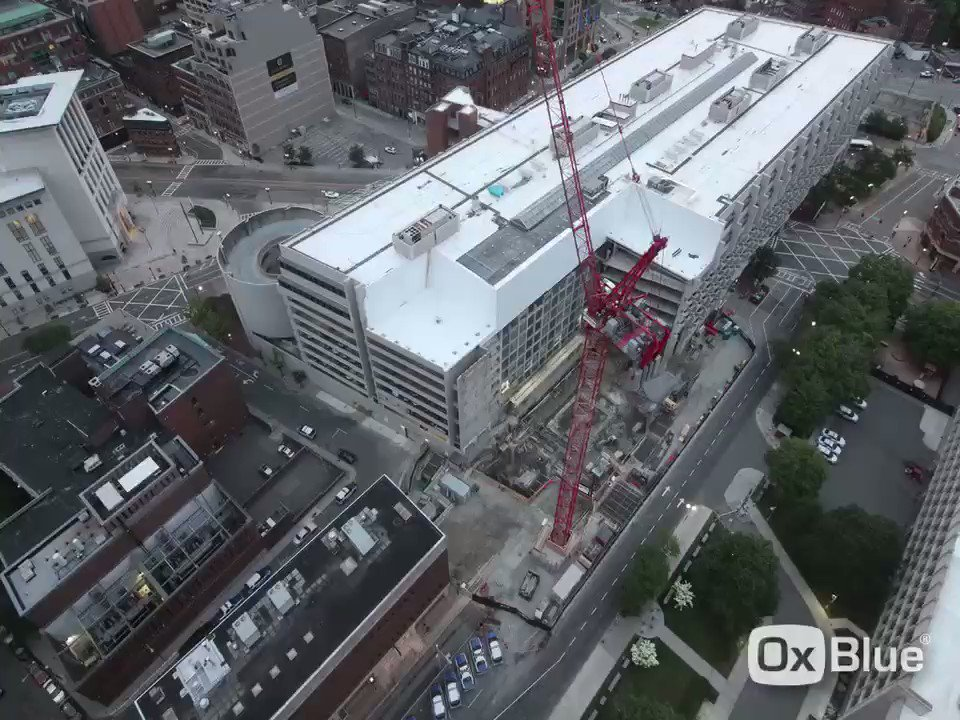 Timelapse at Bulfinch Crossing tower...