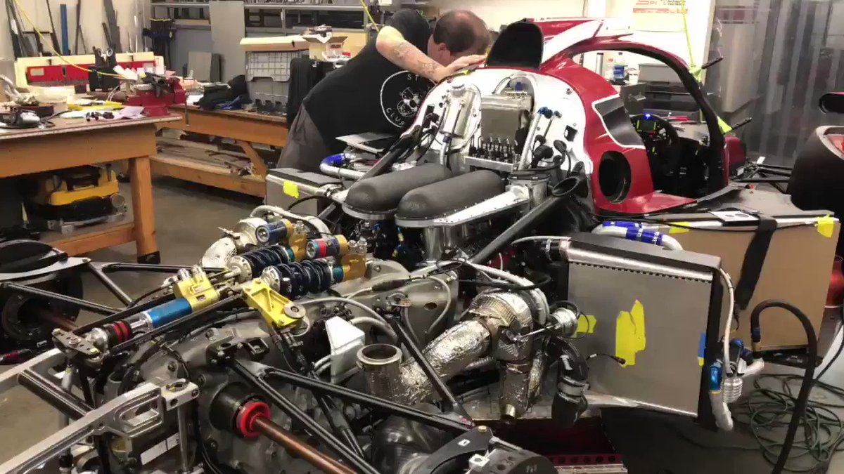 We put some new life back into the Lola B1280. #nasa25hour #jfcv8 #mm08 #twinturbo