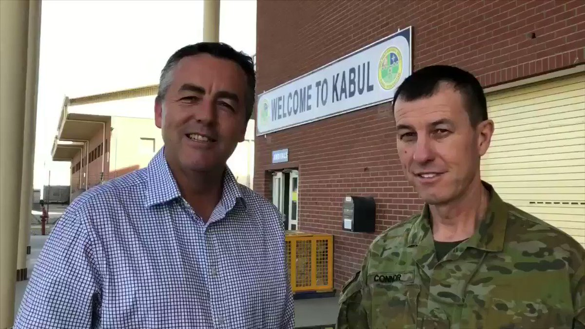 The message I received from our troops on the ground in Afghanistan is they are very focused on the mission to train & advise local security forces & help build their own national capacity to fight against the Taliban & other insurgencies #TYFYS #YourADF @AustralianArmy @CDF_Aust