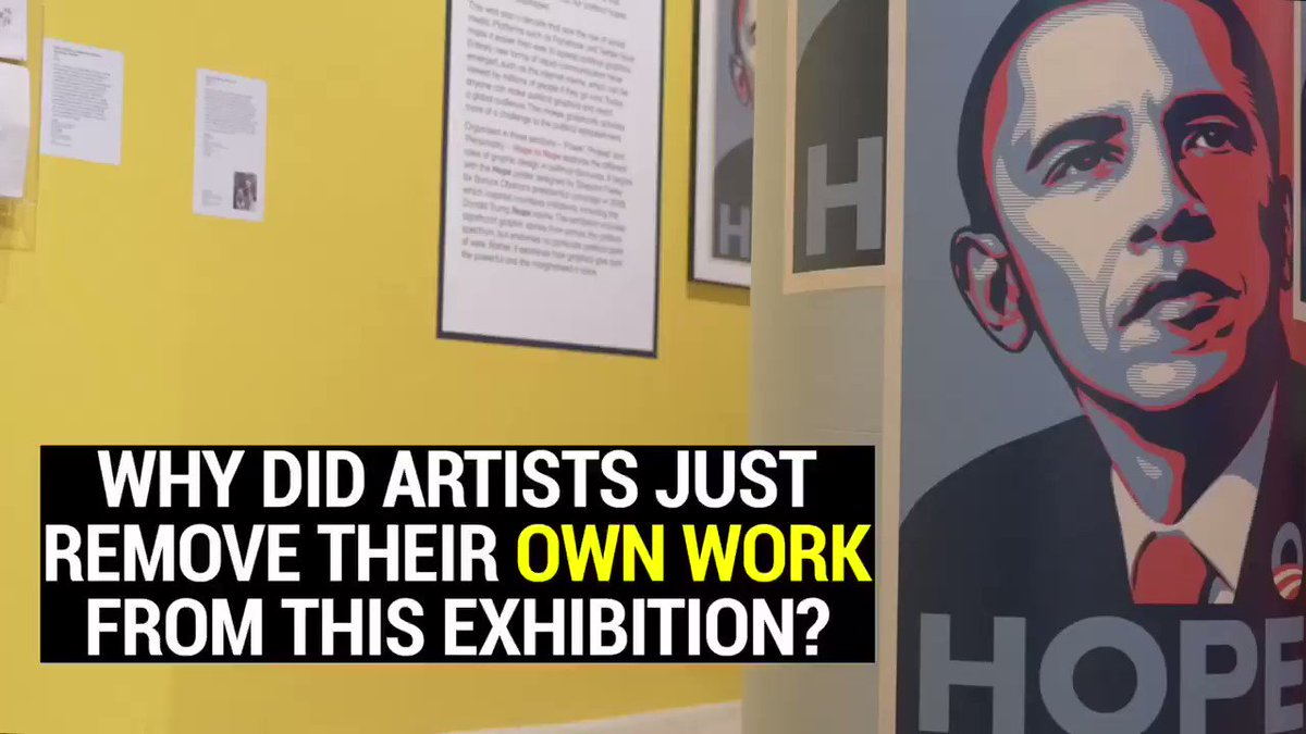 NEW FILM: why did over 40 artists remove their own work from the @designmuseum's #HopeToNope exhibition? Here's the full story #NopeToArms