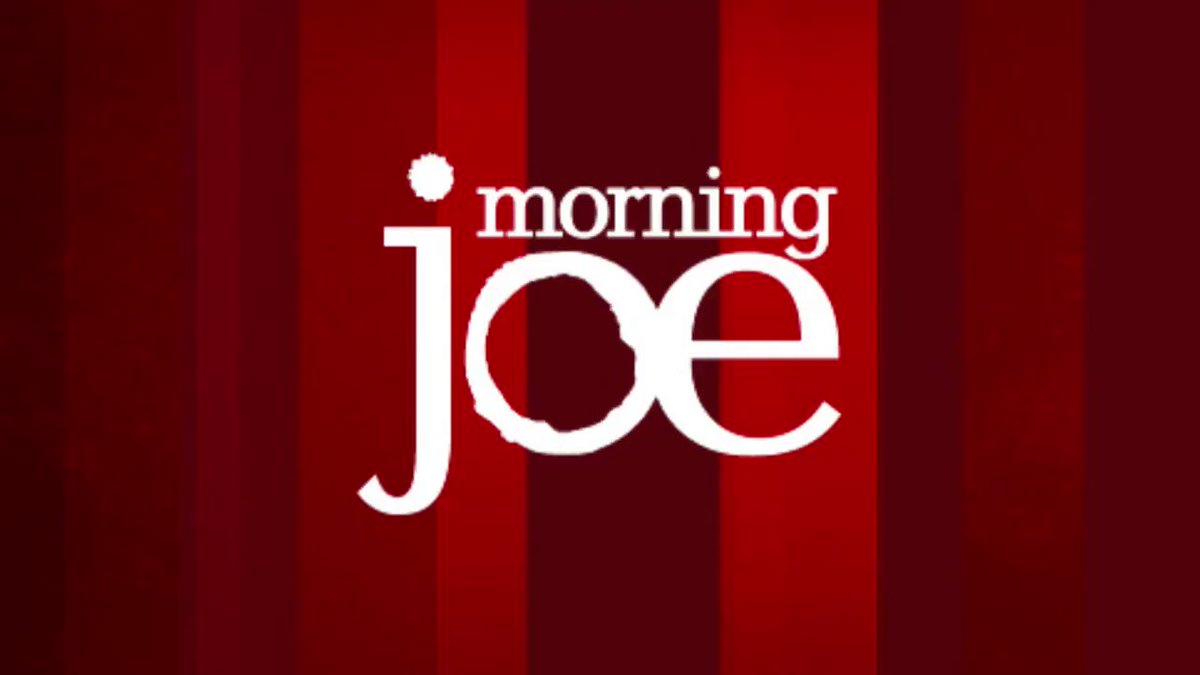 """From """"alternative facts"""" to """"facts develop""""… @Morning_Joe's 6am open."""