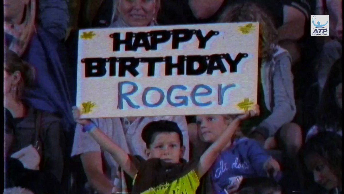 Happy birthday to the man himself 🎉🎈 Leave your special wishes for @rogerfederer below 👇