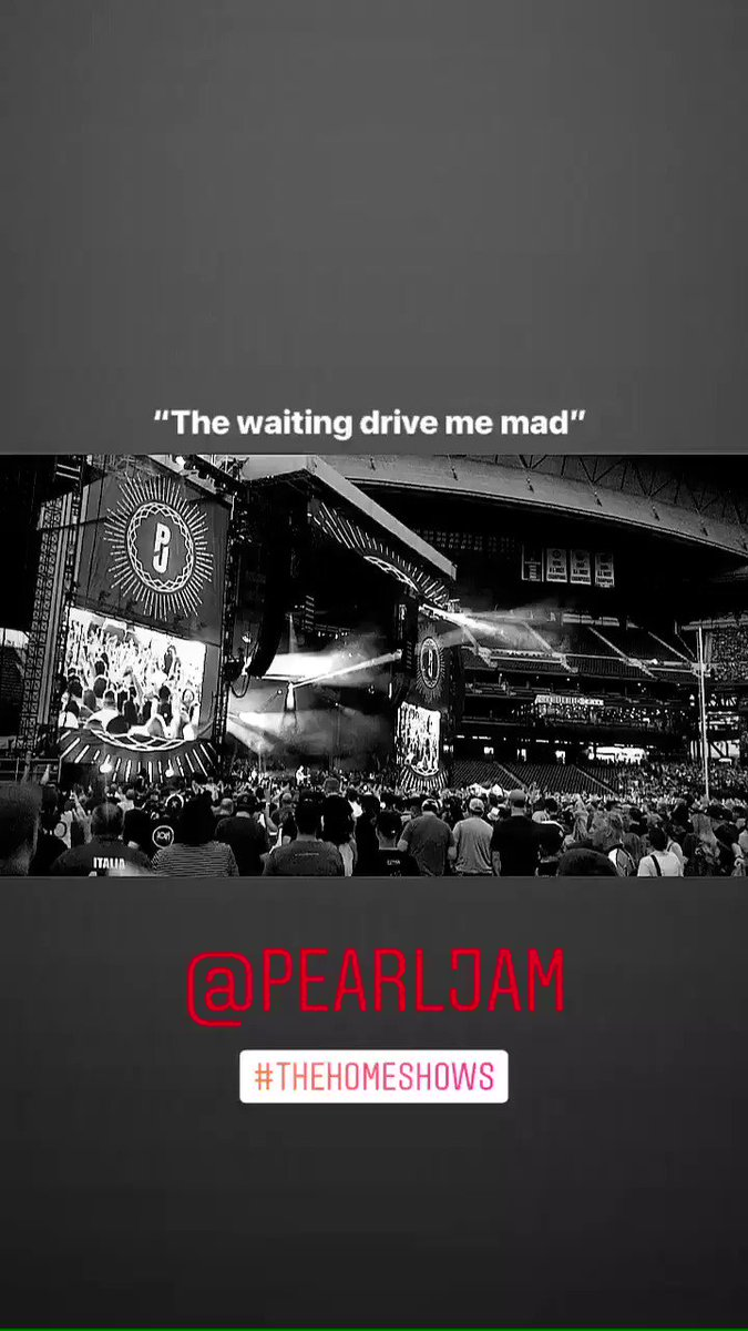 Check out more footage from @PearlJam's #TheHomeShows on our insta ➡️ instagram.com/amazonmusic