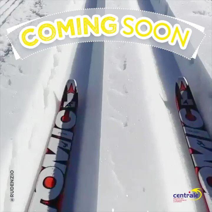 Spoiler alert Se lo #sci di fondo è la tua #passione, per la #stagione invernale è in arrivo una fantastica #novità. Continua a seguirci per scoprire di cosa si tratta.#CentraleLivigno #spoiler #Livigno #inverno  - Ukustom