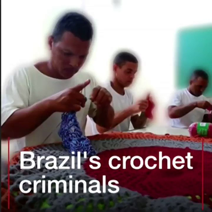 Meet the Brazilian criminals learning to crochet in prison  https://t.co/IOnvxZgIBf https://t.co/YugXvuvJCY