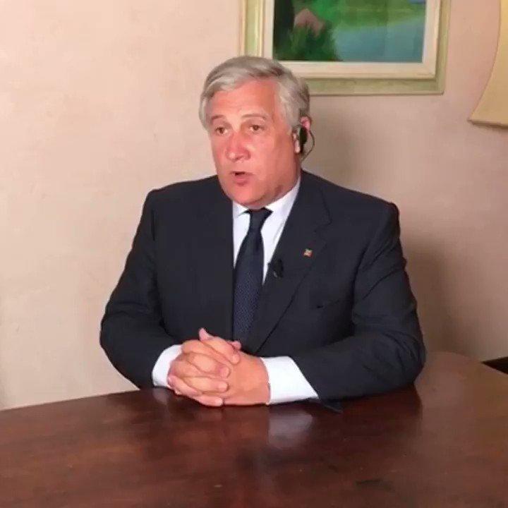 """SERVE RISPETTO PER I MORTI DI MARCINELLE! @Antonio_Tajani: """"Di Maio dimostra di non avere rispetto per quegli operai venuti dal meridione d\"""