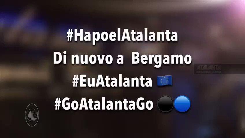 Di ritorno a Bergamo! La nostra casa! Buongiorno! #HapoelAtalanta #EuAtalanta #GoAtalantaGo   - Ukustom