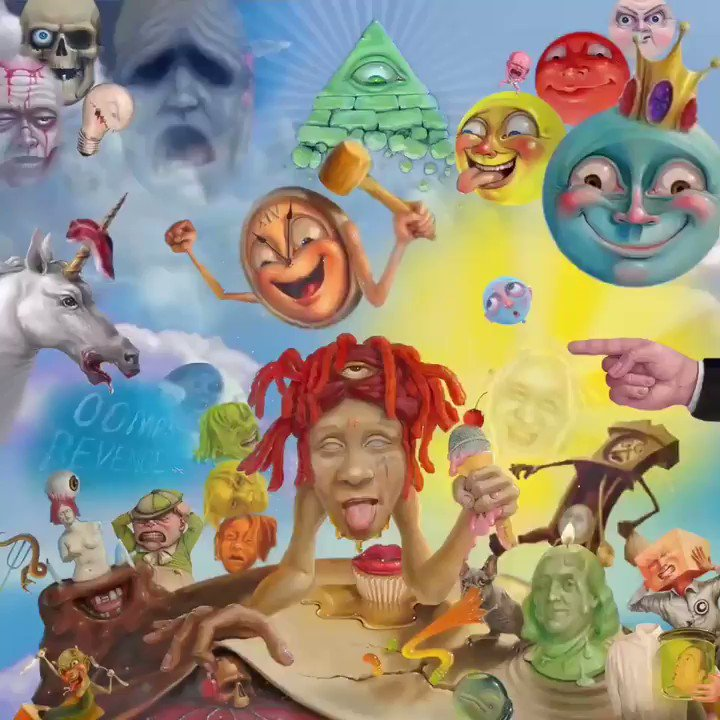 LIFES A TRIP 🤧 The official debut album from @trippieredd. Listen now spoti.fi/2MxyaIp