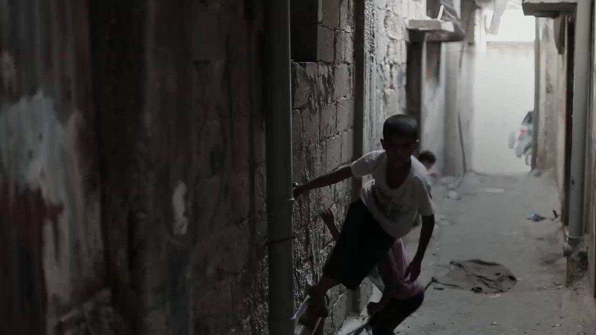 The IMEU's photo on Gaza