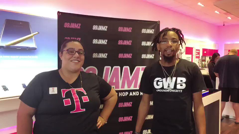 99JAMZ On Twitter With TMobile You Get 4 Unlimited Lines For Just 40 Autopay And Netflix Included The Whole Family Come Visit DJLuckyC