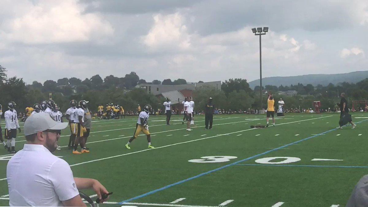 Steelers training camp injury update: Antonio Brown returns to practice