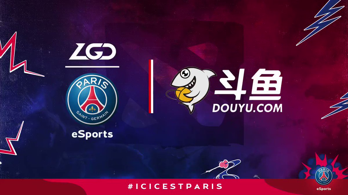 📝🤺 We are proud to announce our partnership with one of the leading Chinese streaming platform Douyu ! 🔴🔵 psg-esports.com/douyu-becomes-…