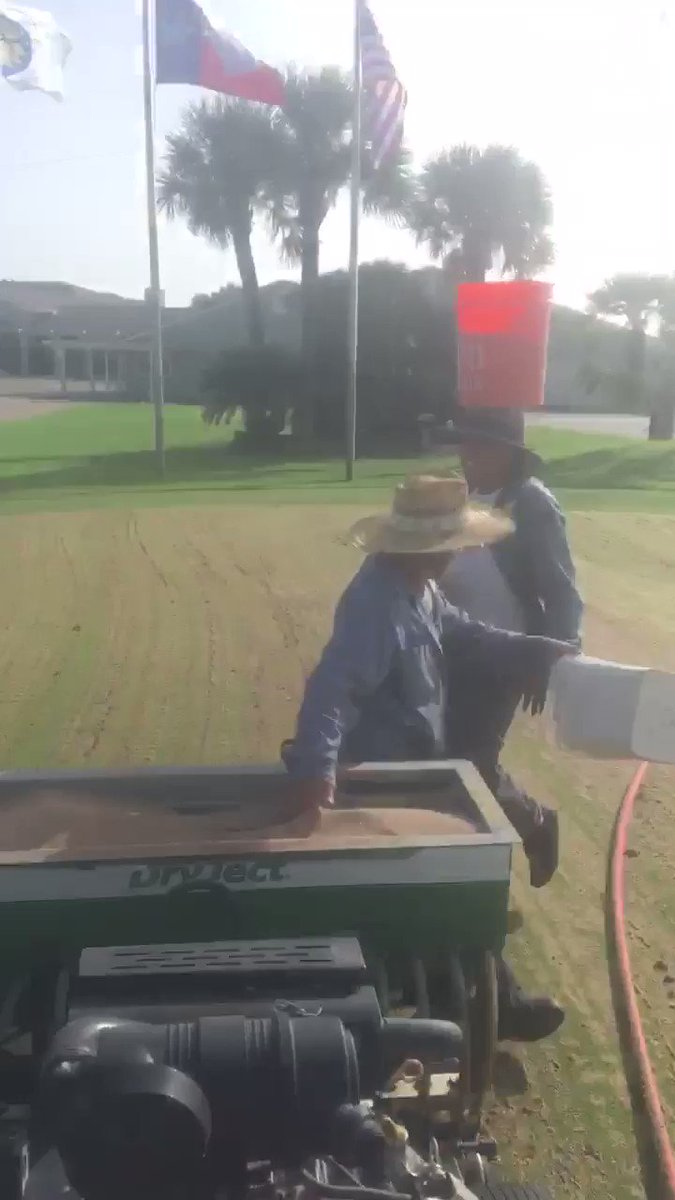 Image for the Tweet beginning: The #DryJect aeration process is