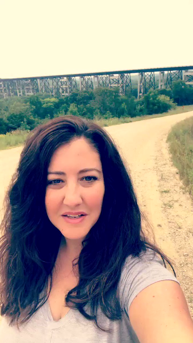 @RobinRoberts Good Morning America from Iowa & the famous Kate Shelley Bridge #myGMA @GMA
