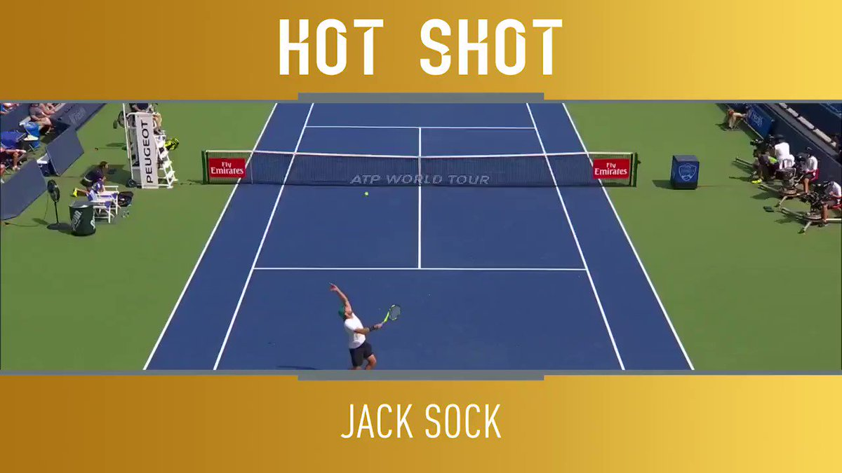 Who wishes they had the same reaction time as @JackSock? ��  �� @TennisTV https://t.co/qtlFUCbeqP