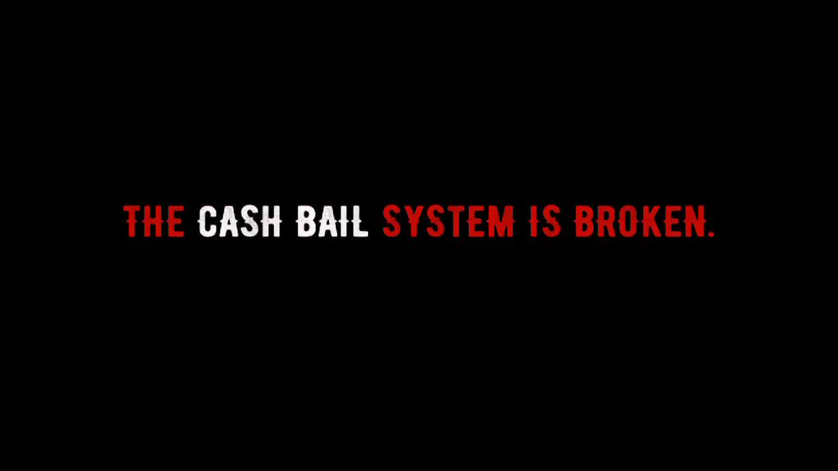 Recently, a federal court struck down the money bail system in New Orleans, making cash bail unconstitutional. As a country, we still have a long way to go but #ThisIsProgress @MalcolmJenkins @AnquanBoldin