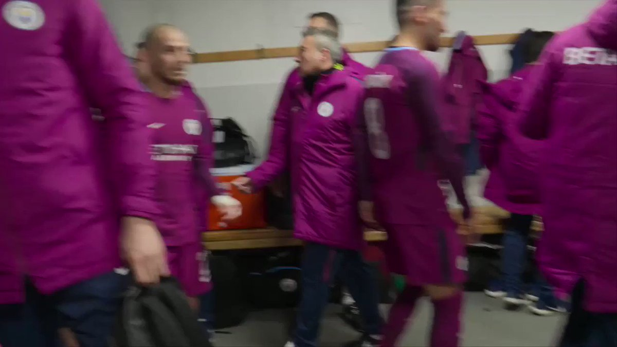Pep Guardiola to his team at halftime.