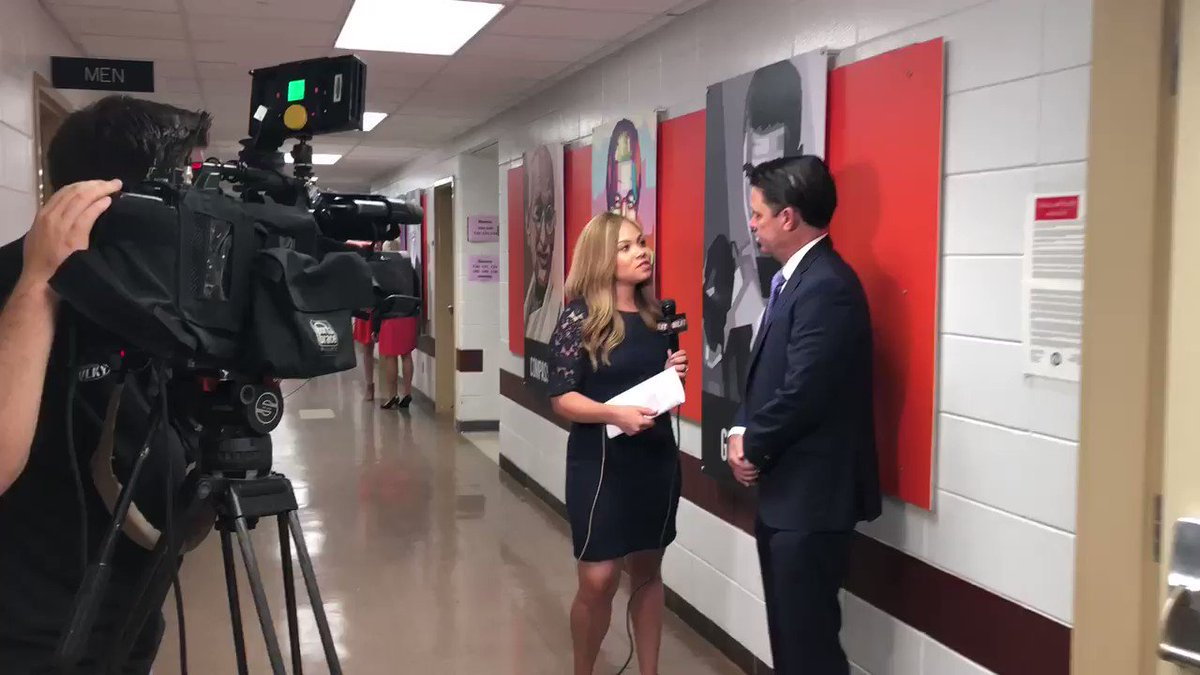 We're on the air with @WLKY this morning at @DuBoisAcademy to help kick off the 2018-19 school year! #WeAreJCPS