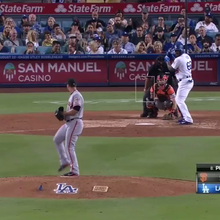 The rivalry stays STRONG. Yasiel Puig and Nick Hundley were at the center of a Giants-Dodgers scuffle.