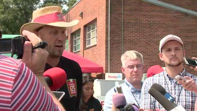 #Maryland Interim Head Football coach Matt Canada talks about the current mood of the team. @wusa9 @WUSA9sports