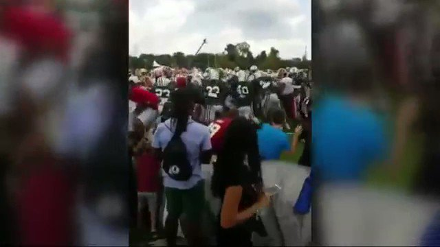 Fan says he suffered head injury during #Redskins - #Jets brawl @wusa9 @WUSA9sports