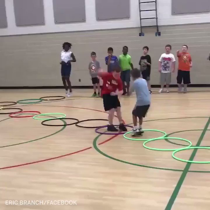 Watch these 4th graders at Lowell Elementary School play the most epic game of rock-paper-scissors ever. (via @ELBranch13)