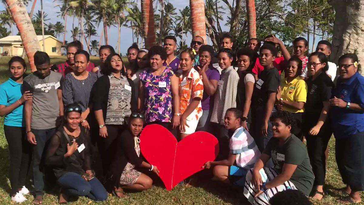 In Fiji, at least 1 child per classroom suffers from Rheumatic Heart Disorder. Next month, these 25 Fijians living with this preventable condition are gearing up to amplify awareness & increase child testing #Heart2Heart