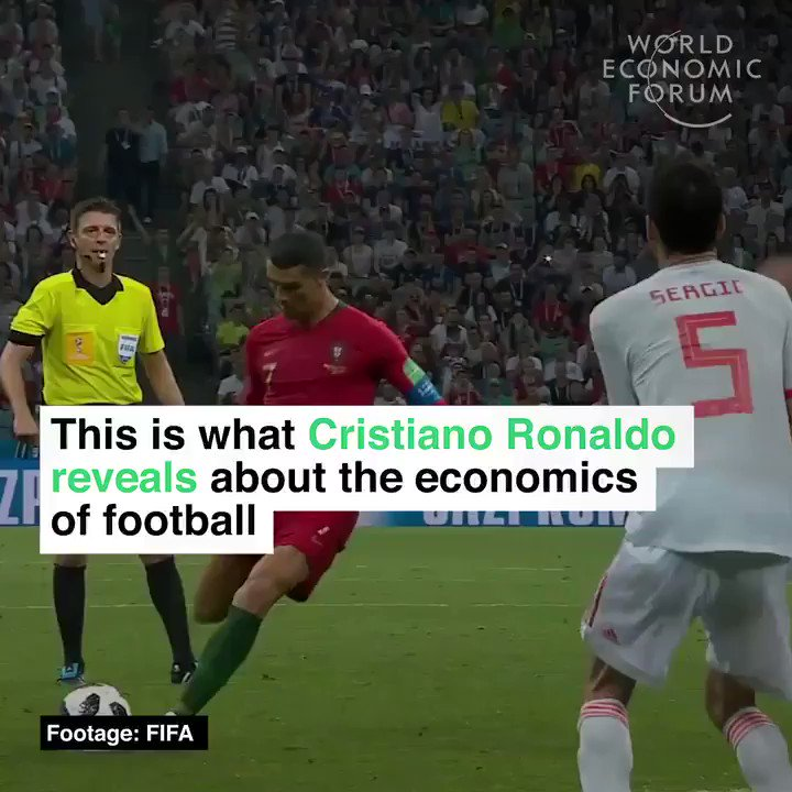 This is what Cristiano Ronaldo reveals about the economics of #football. #marketing #branding #innovation