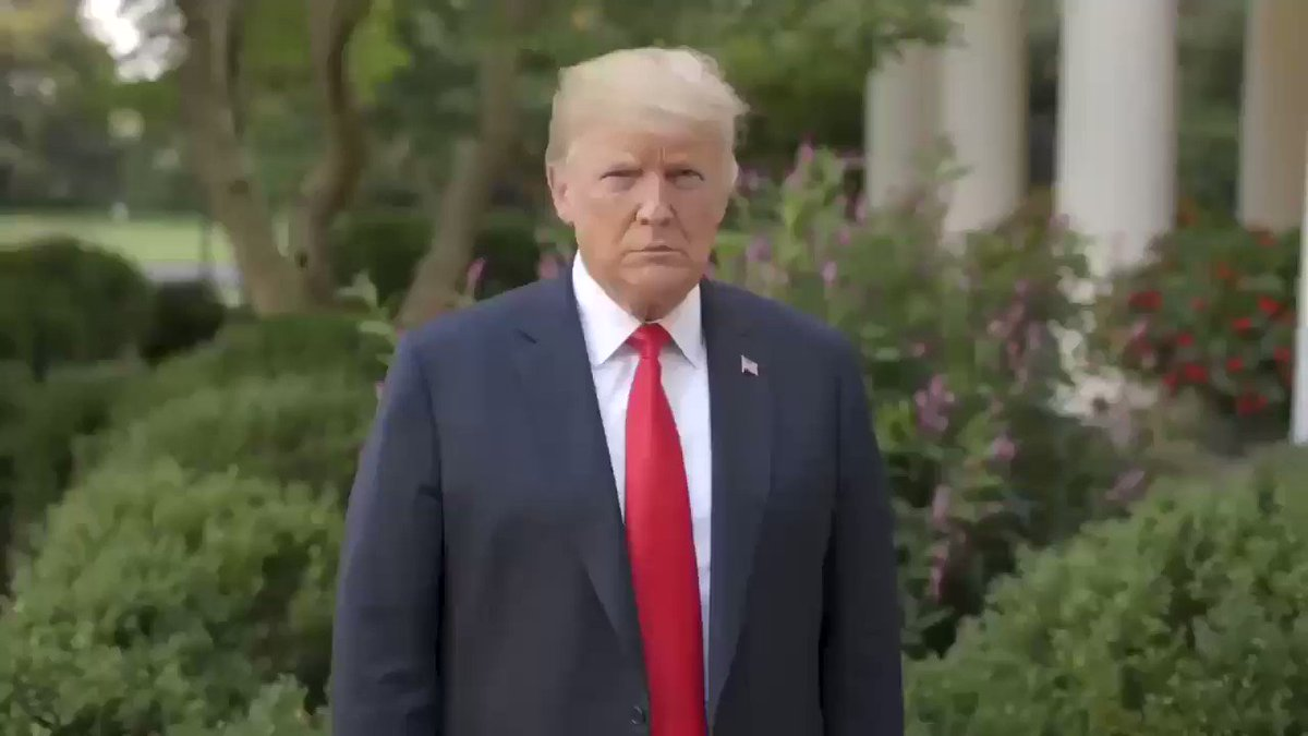 an important message from President Trump