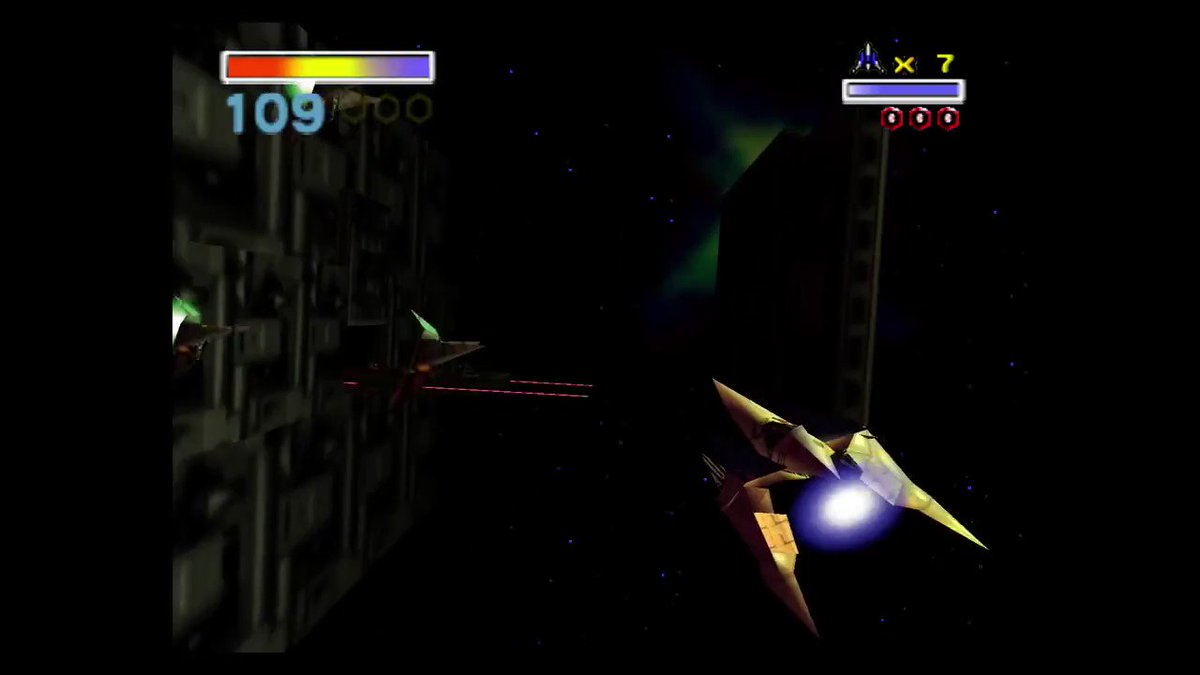 Star Fox 64 was one of the first games I ever owned and I seriously dont ever remember this happening??????