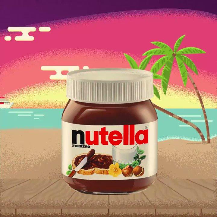 A te che… sveglia presto o tardi, la mattina datemi Nutella®. #Buongiorno #Lunedi  - Ukustom