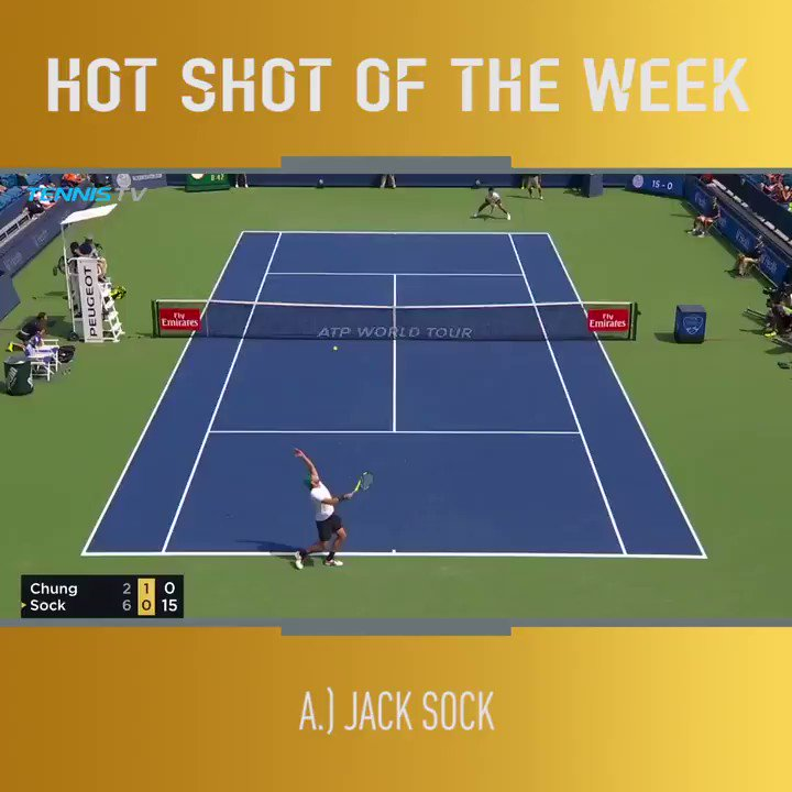 Last week was full of ������  Which of these @CincyTennis Hot Shots was your fave?  �� : @TennisTV https://t.co/CdOxfzegX4