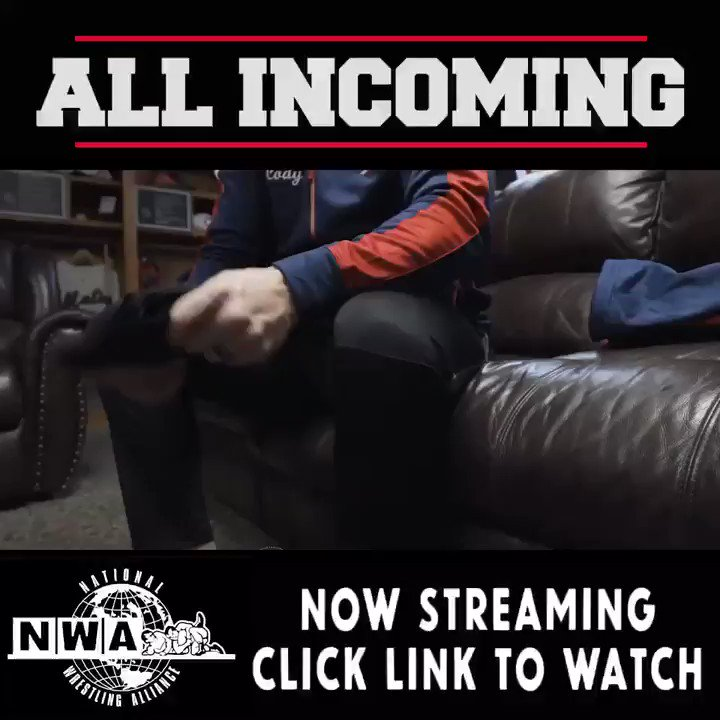 Part 1 of 4: #ALLINCOMING youtu.be/BBCn2KKRpKU @RealDDP @nwa @njpwglobal @ringofhonor @TheBrandiRhodes @Lagana @FiteTV @Starrcast18 @ALL_IN_2018