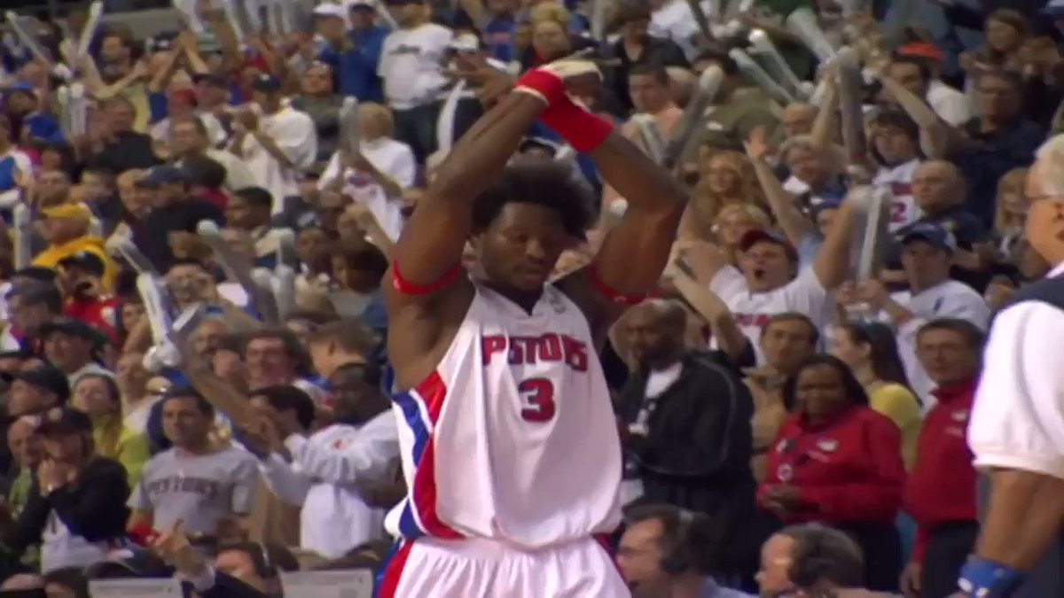 Ben Wallace is so UNDERRATED.   6x All-Defense  5x All-NBA 4x DPOY 4x All-Star 2x rebounding leader Block Champion NBA Champion   Legend.