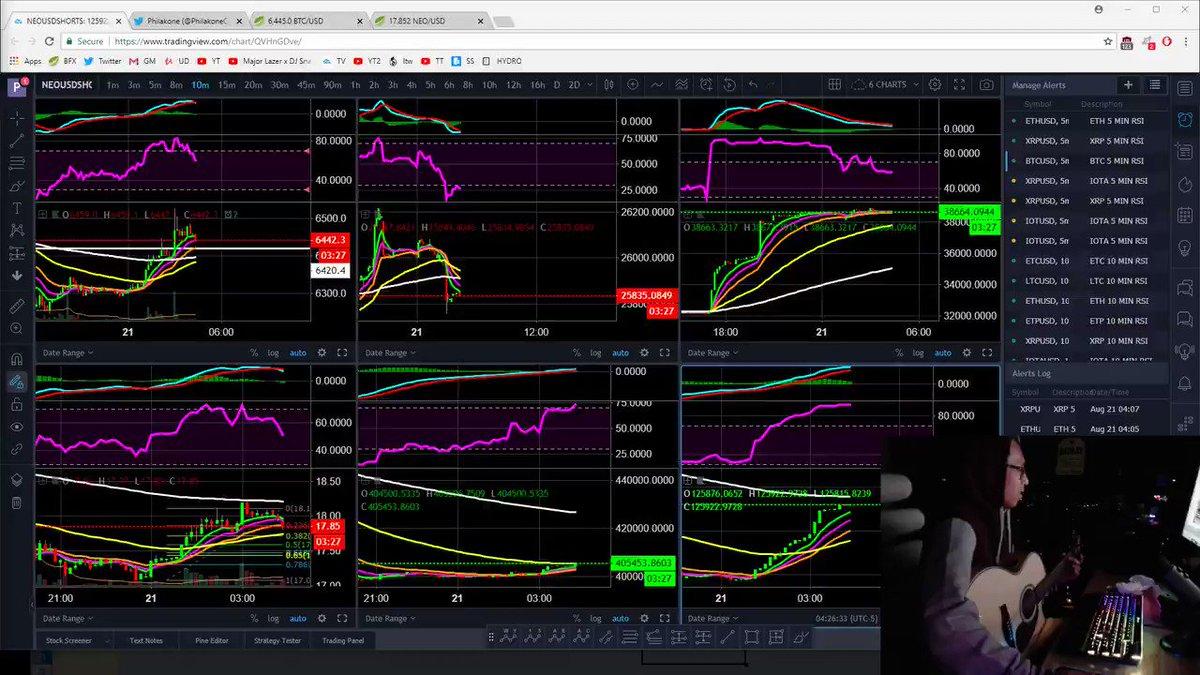 Image for the Tweet beginning: Hehe @_blockandchain_ Trading crypto is