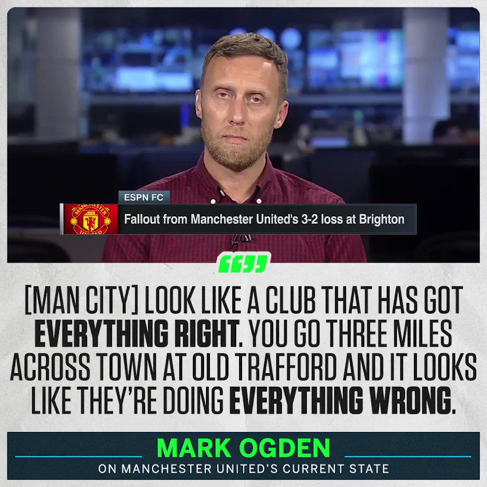"""They seem to be making it up as they go along."" @MarkOgden_ sums up Manchester Uniteds strategy on and off the pitch."