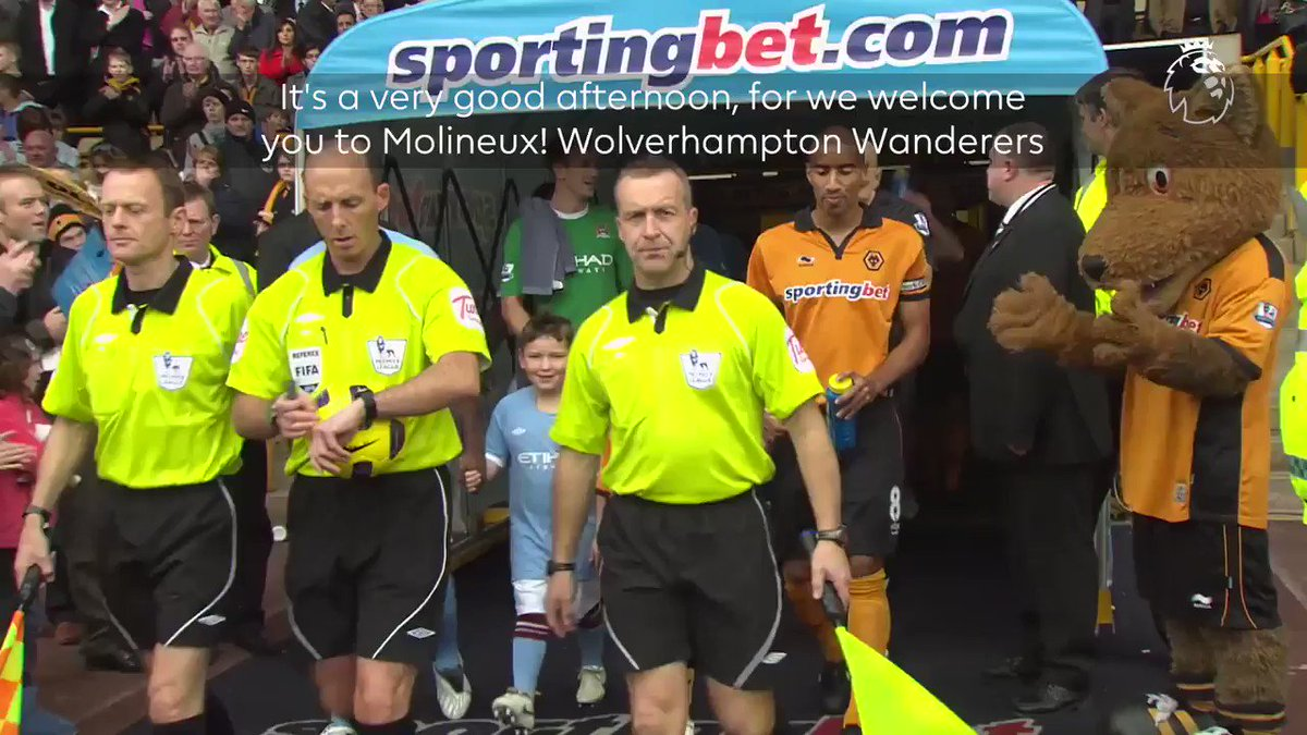 Matchweek 3 kicks off at Molineux  A repeat of this would please @Wolves fans…  #WOLMCI https://t.co/Gt5oNPRebe