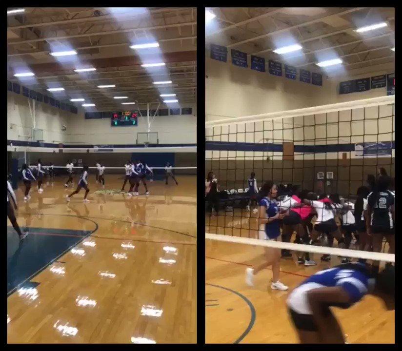 Wyatt Volleyball Girls picking up the W vs The Dunbar Wildcats in 3 straight sets! 🔥🔥🔥 #wearewyattslegacy