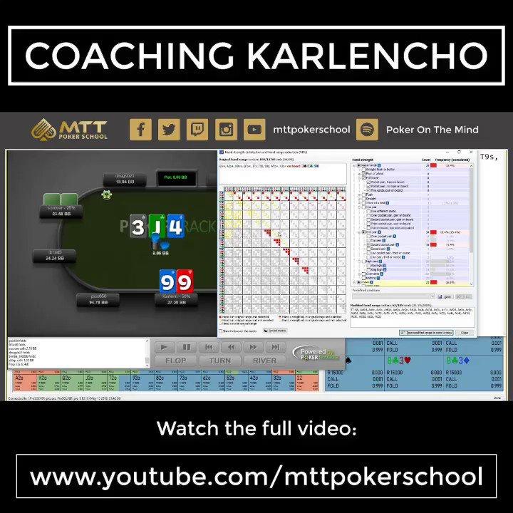 MTT Poker School on Twitter: