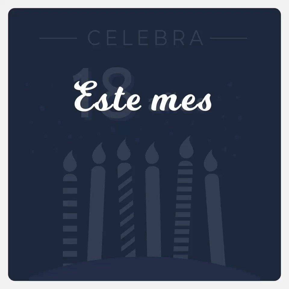 ¡¡¡Celebramos 18 años, Gracias a TI!!! #Aniversario #18años #Avantare #TI #Empresas #Software