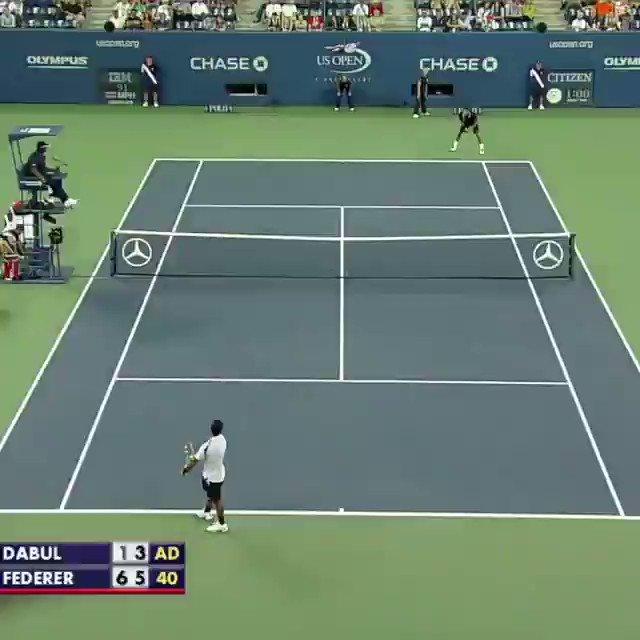 Simplemente el mejor tenista de la historia. Su Majestad @rogerfederer 👏🏼🎾.....