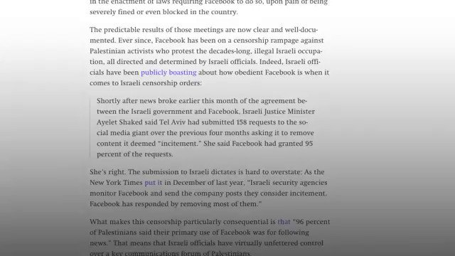 #Facebook Bends the Knee to #Israel and The #US👇😡THIS IS A FACT‼️ #Censoring #Palestine #Gaza #Occupation #BDS #ApartheidIsrael #FreeSpeech #BackNECcode #AntiSemitism #LabourNEC #JeremyCorbyn #JC4PM