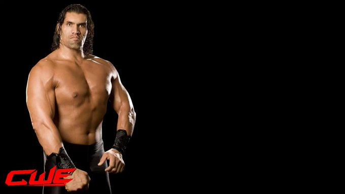 CWE family wishing a very happy birthday to the legendary The Great Khali