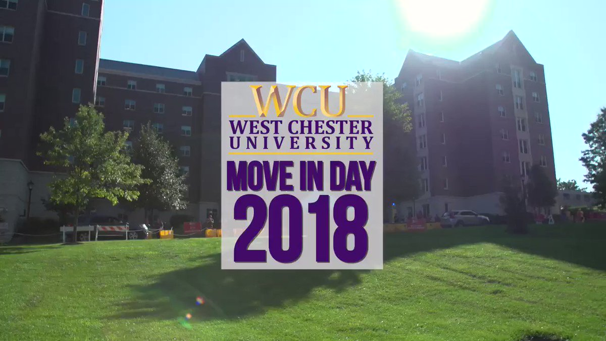 We're all moved in and ready to take on the semester!! #moveinday #westchesteruniversity #hereWeGoRams