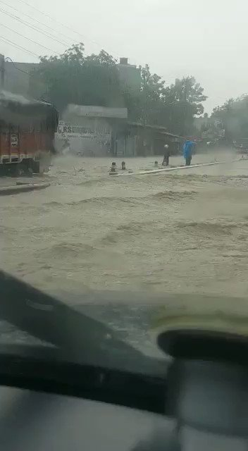 @HTGurgaon Sohna Road Gurgaon after Rain