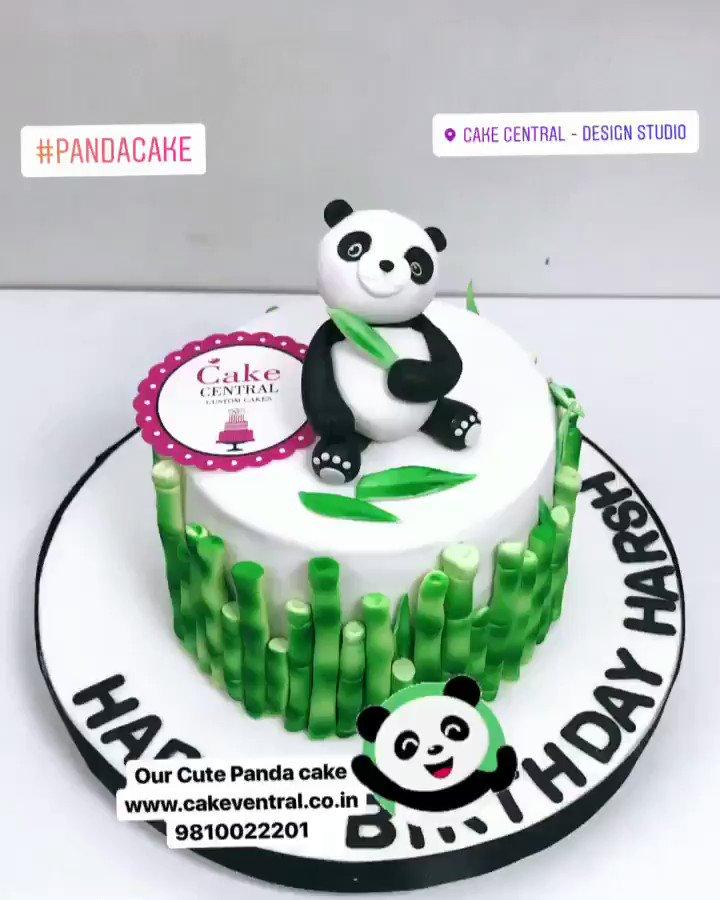 Cake Central Design Studio On Twitter Cakes Pandacake Panda
